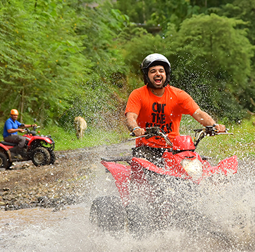 4 Hour Single ATV & Waterfalls and Lunch